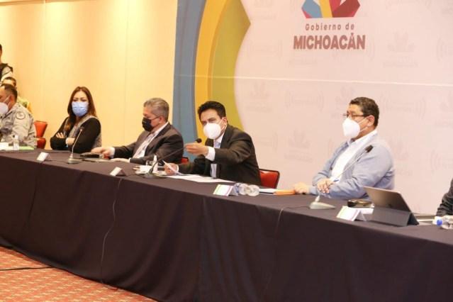 Presentan protocolos de atención y salud ante Mesa de Seguimiento al Proceso Electoral