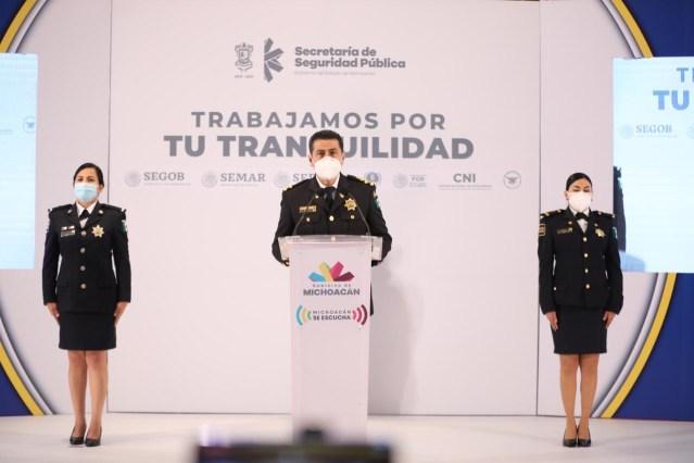 Estrategia de coordinación, cada vez más sólida en Michoacán: Israel Patrón