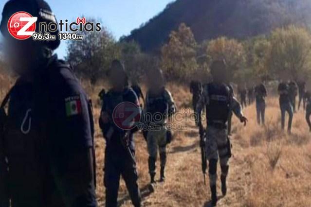 Sigue despliegue policiaco y militar en Gabriel Zamora, luego de ataque contra municipales