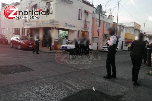 Un muerto y un herido deja agresión a balazos en la Félix Ireta, Morelia
