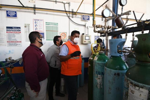 Emite Gobierno de Morelia recomendaciones para el manejo adecuado de tanques de oxígeno