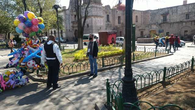 Continúa Gobierno de Morelia con operativo para verificar cumplimiento del Bando Municipal