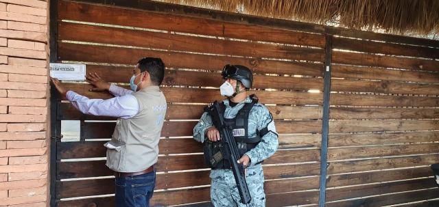 Suspendidos dos restaurantes en Cuitzeo y Copándaro por incumplir normas sanitarias