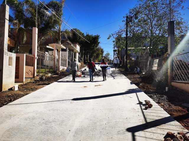 Semovep recorre obra integral en beneficio de habitantes de Jesús Del Monte