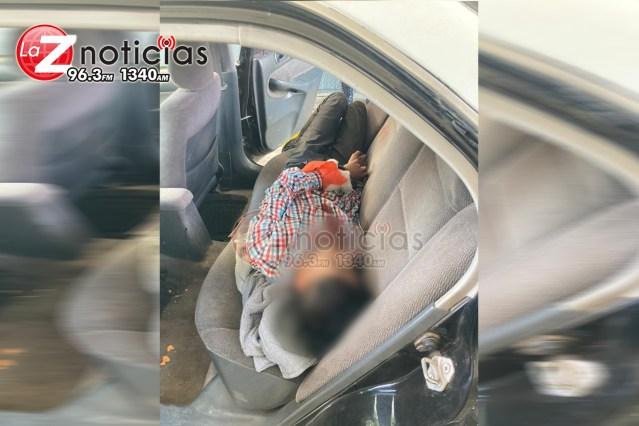 Menor de edad es hallado baleado y engrilletado en Atecucario