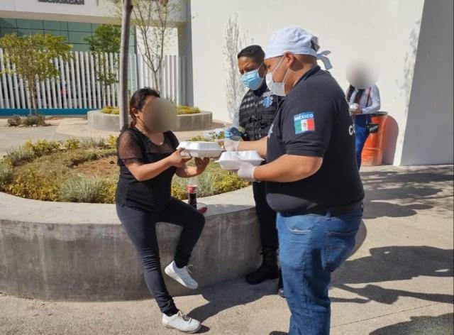 Como acto de solidaridad, entrega SSP  raciones de alimentos a familiares de pacientes COVID-19