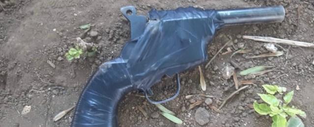 En Uruapan, detiene SSP a uno en posesión de arma de fuego