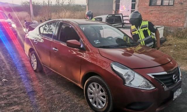En Morelia, detiene SSP a uno en posesión de vehículo con reporte de robo