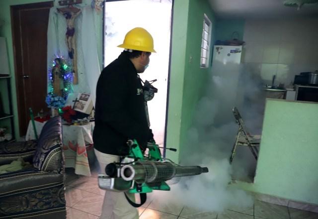 Mantiene SSM acciones de saneamiento para combatir el dengue en el estado