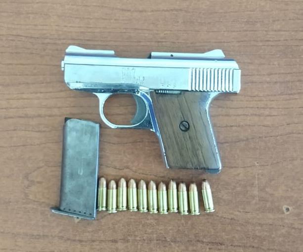 Asegura SSP a uno en posesión de un arma de fuego y cartuchos útiles, en Zamora