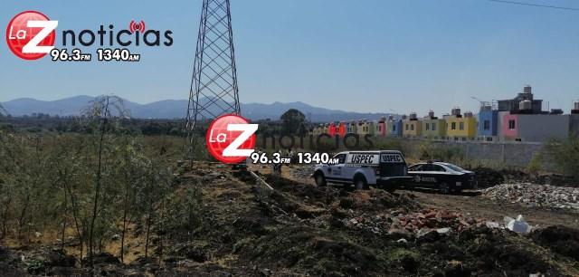 Hallan a hombre asesinado en terreno baldío de San Lorenzo Itzícuaro