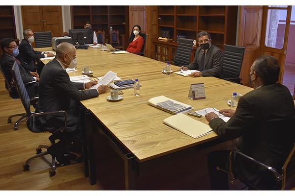 Comisión de Administración y Comité de Adquisiciones del Poder Judicial de Michoacán abonan a la optimización de los recursos financieros