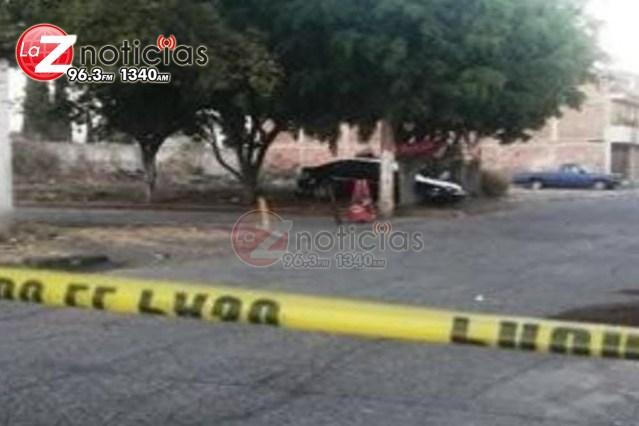 Hombre es asesinado a tiros en Jardines de Sahuayo