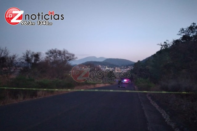 Abandonan un ejecutado en la carretera a La Cantera