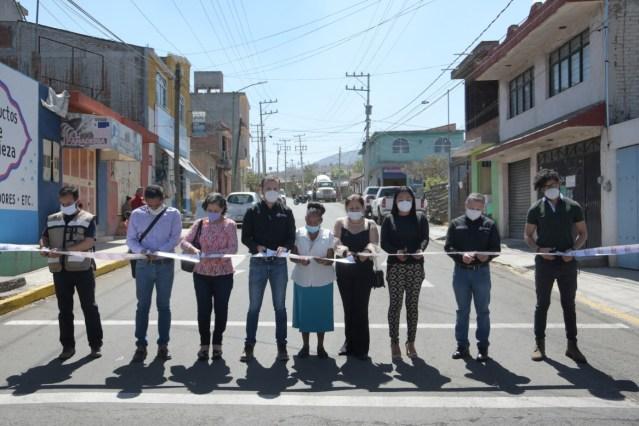 Gobierno de Morelia inaugura reencarpetamiento de Av. Cedrón, 15 mil beneficiados