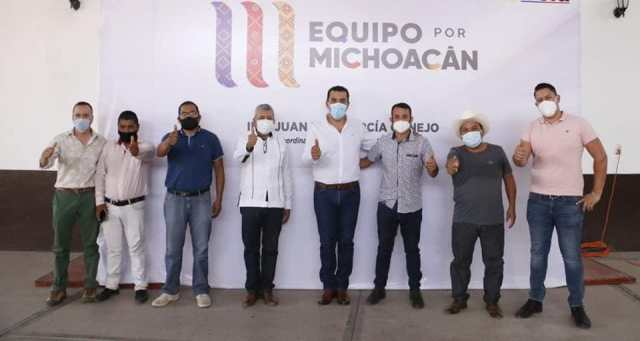 Equipo por Michoacán, exigencia del pueblo: Juan Luis García
