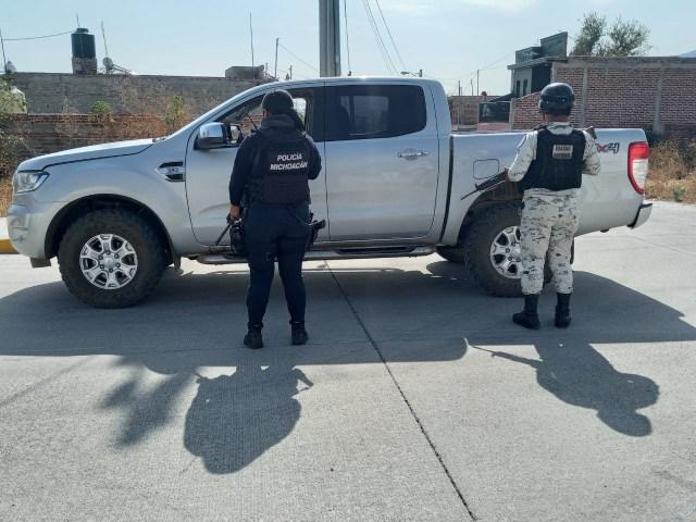 Durante las últimas horas aseguramos en distintos hechos, 5 vehículos con reporte de robo: SSP