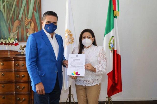 Nombra Gobernador a María del Rosario Cruz como nueva titular del DIF Estatal