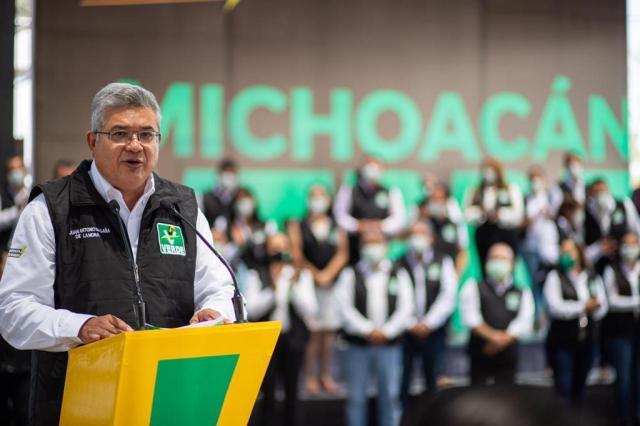 Propone Magaña de la Mora cinco ejes para lograr el cambio en Michoacán