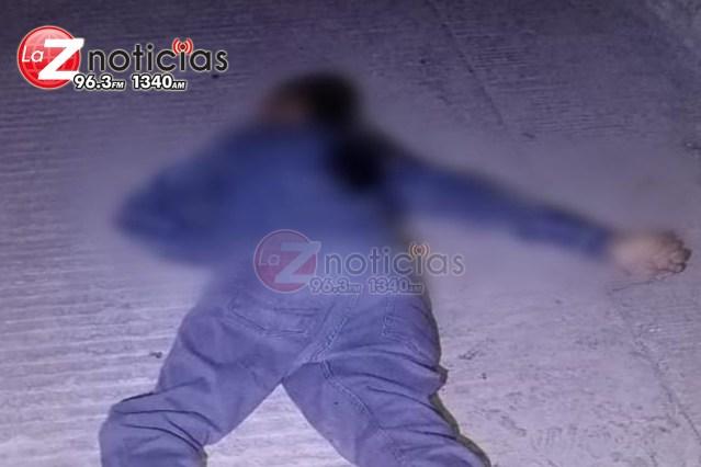 De dos balazos matan a un hombre en Lomas de San Pablo, Jacona