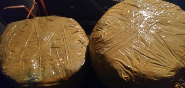Asegura SSP a uno en posesión de 3 kilos de marihuana, en Uruapan