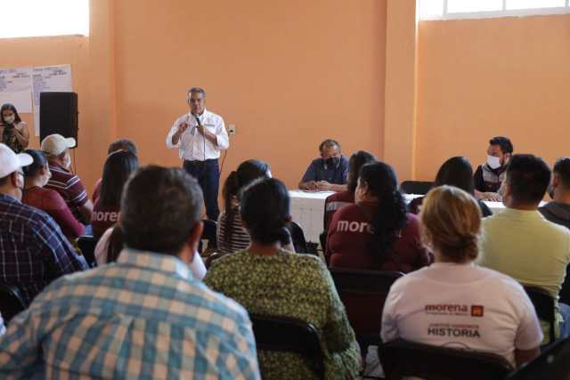 Asegura Raúl Morón firmeza de la Cuarta Transformación en Michoacán