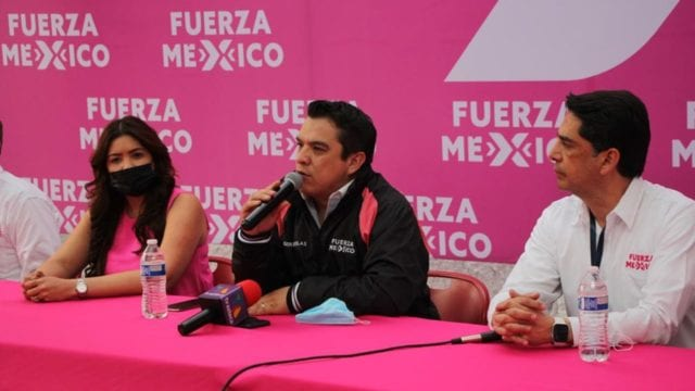 Fuerza por México se sumará a impugnación a candidatura de Alfredo Ramírez*