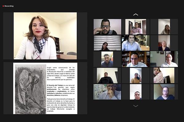 Para hacer frente a la materia laboral, el Poder Judicial de Michoacán continúa acciones de capacitación