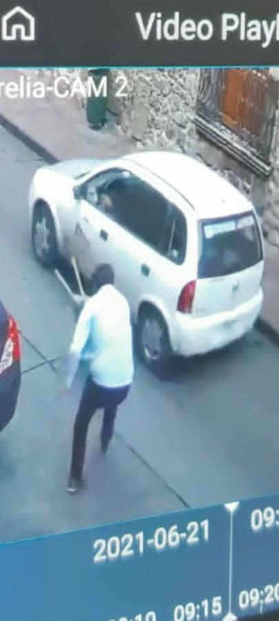 Ladrones se llevan 300 mp en robo a financiera en el Centro Histórico de Morelia
