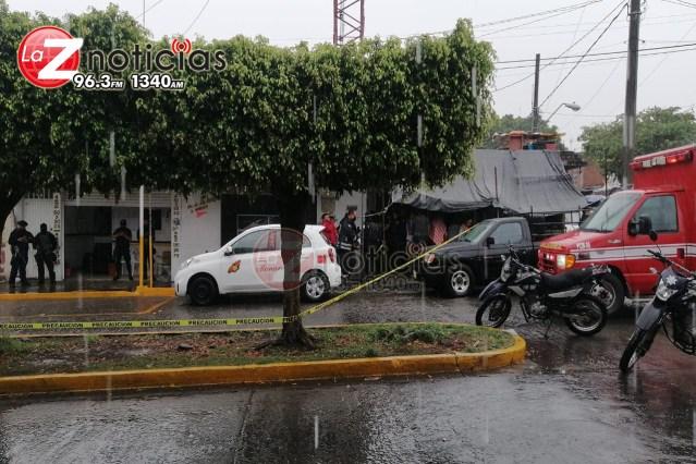 Matan a taxista de la línea Monarca en Uruapan