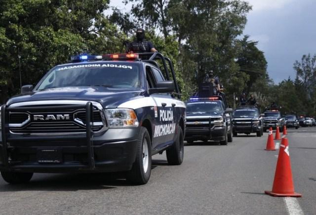 Refuerza gobierno de Michoacán combate al delito