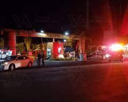Solitario gatillero mata a hombre y mujer en la caseta del Fraccionamiento hacienda Los Ángeles