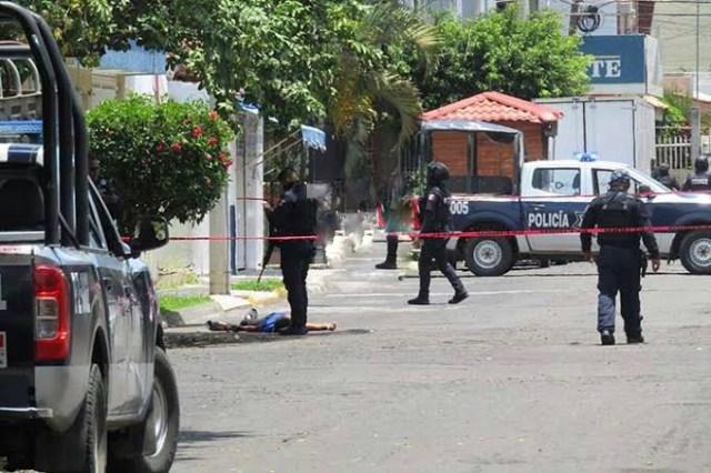 A balazos matan a muchacho en las calles de la colonia Las Fuentes