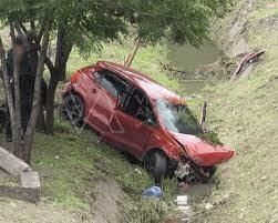 Se registra accidente automovilístico a la altura del Estadio Morelos