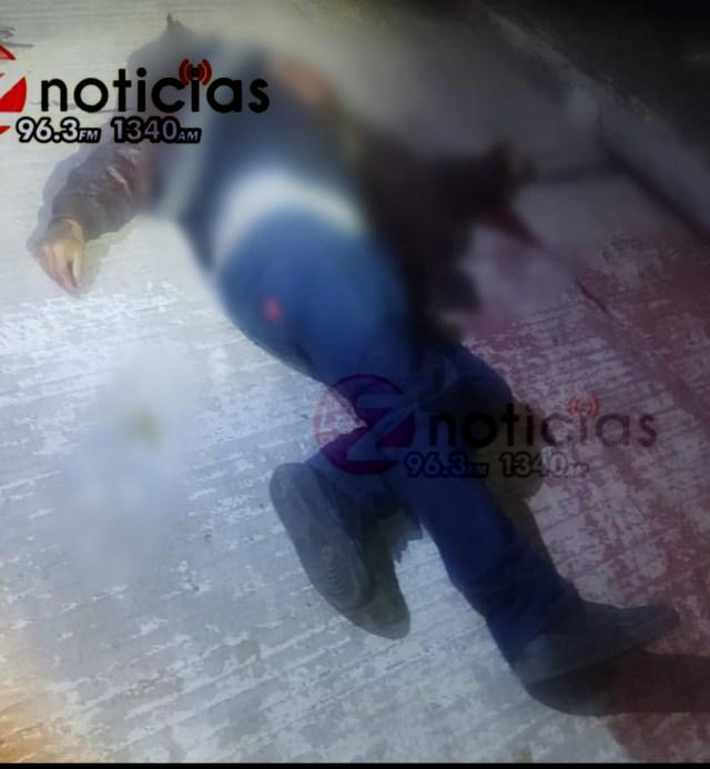 A tiros dan muerte a un hombre en la colonia Trasierra