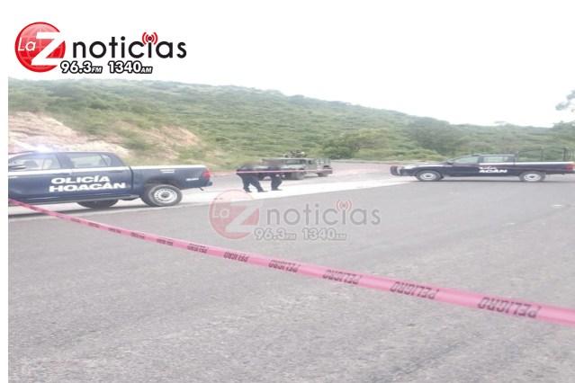 Hallan a hombre ejecutado en el municipio de Tarímbaro
