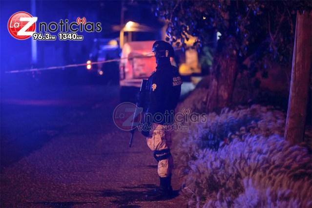Emboscan y matan a tres policías en Valparaíso, Zacatecas