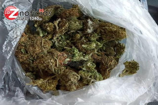 En Morelia, detiene SSP a uno en posesión de marihuana