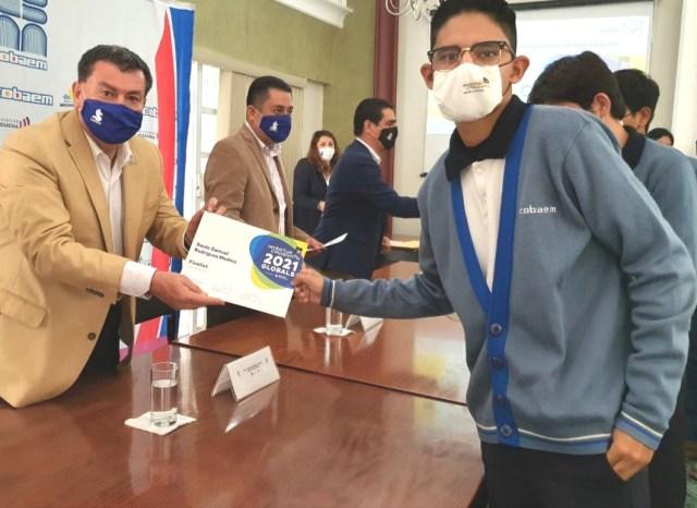 Estudiantes Cobaem, líderes a nivel internacional