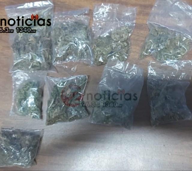 En acción operativa, detiene SSP a uno en posesión de marihuana