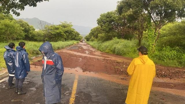 Rehabilita Gobierno estatal vías afectadas por las lluvias