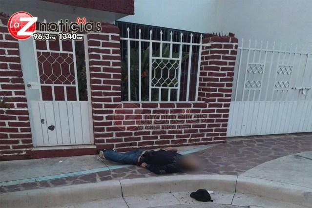 Quincuagenario es asesinado de tres balazos en la colonia San Pablo