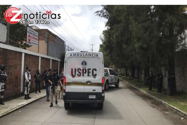 Acribillan a un automovilista cerca del fraccionamiento Santa Rita, Morelia