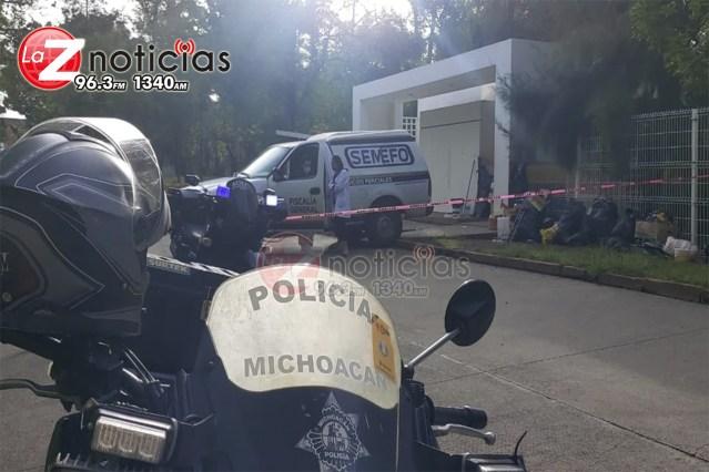Muere indigente al exterior del estacionamiento del antiguo Hospital Infantil de Morelia