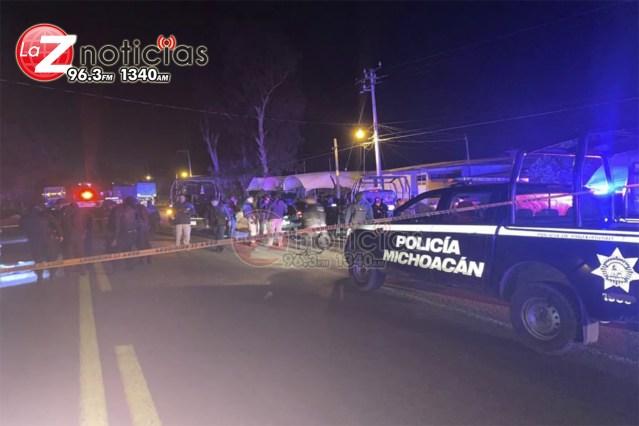 Enfrentamiento entre policías y personas armadas deja 3 muertos en Zitácuaro; hay 3 detenidos