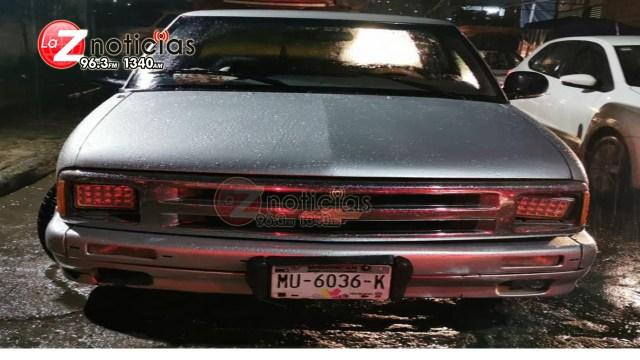 En Zitácuaro, detiene SSP a uno en posesión de droga y un vehículo robado