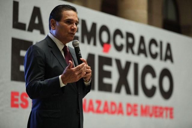 La democracia de México está amenazada de muerte: Silvano