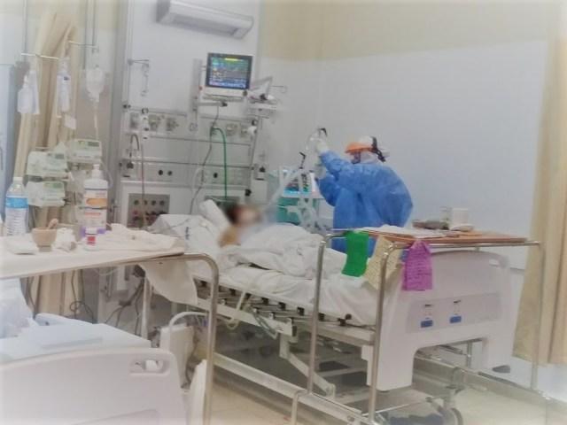 Al 44.4 % ocupación hospitalaria de camas COVID-19 en LC