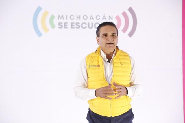 Por el bien de Michoacán, dejaremos un estado fuerte en infraestructura: Silvano