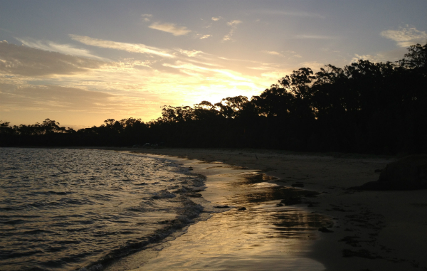 Sunset on Cocora Beach